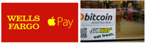 Bit Coin Apple Pay