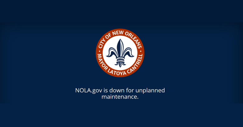 City Of New Orleans Hack